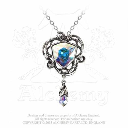Alchemy England Empyrean Eye Tears From Heaven Pendant And Necklace