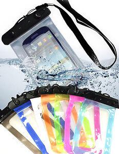 comprare on line 31f8c 4bba9 Dettagli su Custodia Cover smartphone impermeabile acqua sabbia porta  cellulare per Lenovo
