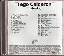 tego calderon limited edition cd
