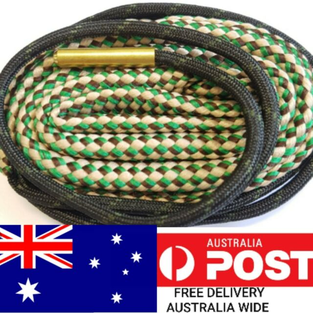 Bore snake gun cleaner 308 7.62 30-06 300 rifle barrel cleaning rope boresnake.