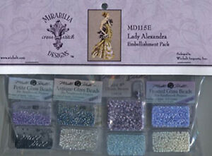 Lady-Alexandra-Embellishment-Pack-MD115E-Mirabilia-New