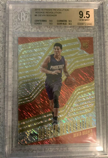 Devin Booker Rookie Revolution BGS 9.5 True Gem Mint *POP 2*