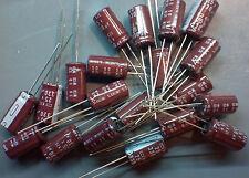 330uF 25V 105C 8x15mm Radial Electrolytic Capacitors -20pcs [ LCD Repair ]