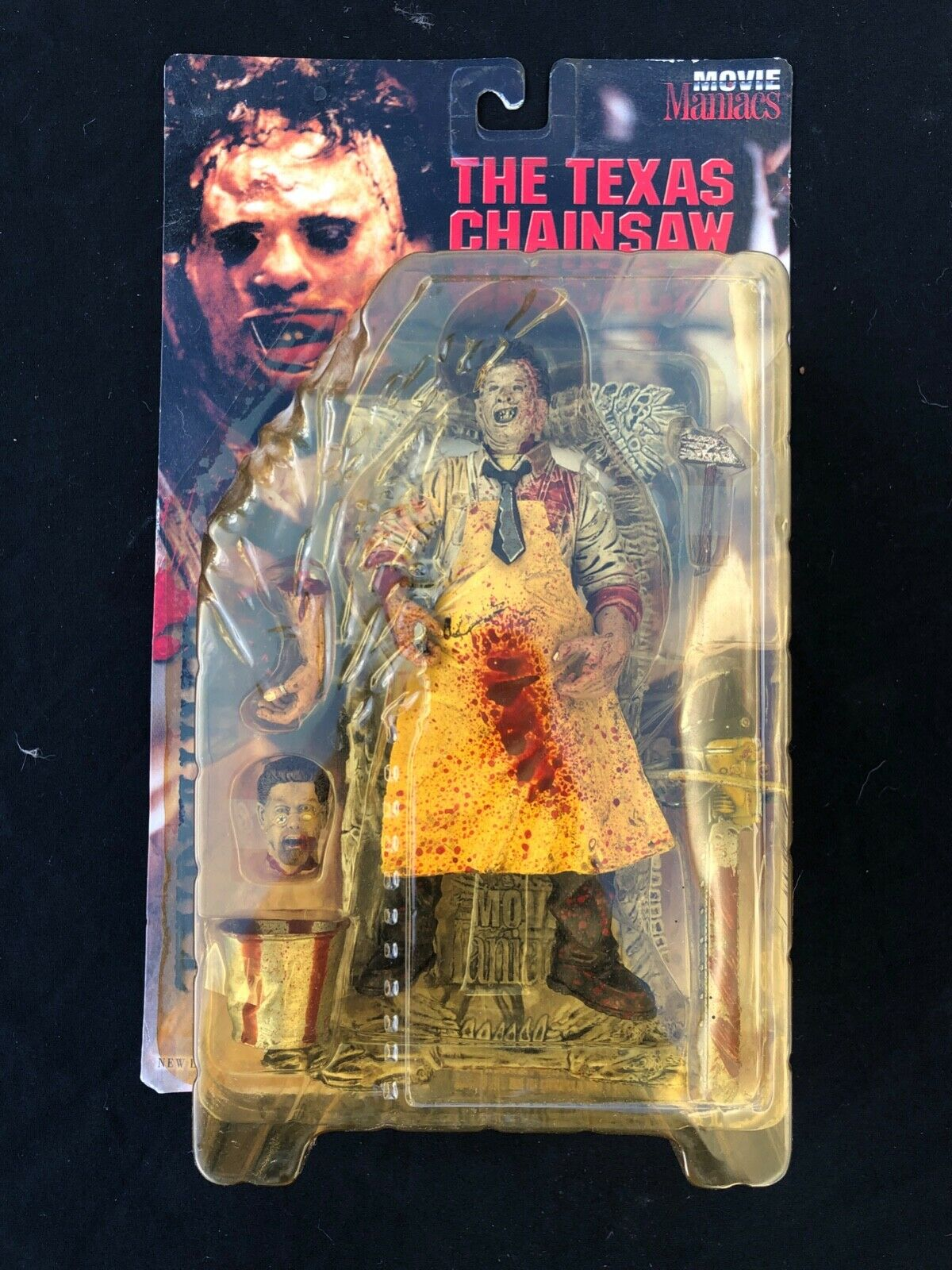 McFarlane Leatherface The Texas Chainsaw Massacre Movie Maniacs Rate R Version.