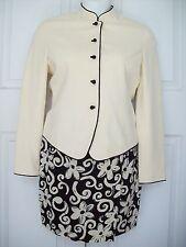 Ann Taylor Long Sleeve Suit Dress Women's Sz S 4, 6 Fully Lined GORGOUS