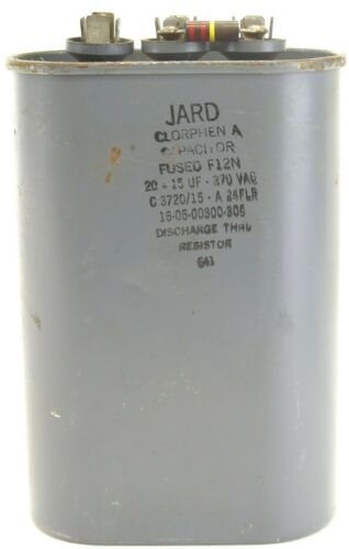 Jard 16-05-00300-306 Capacitor 15uF 370VAC