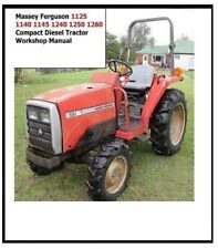 Massey Ferguson Mf 1125 1140 1145 1240 1250 1260 Compact Diesel Tractor Service