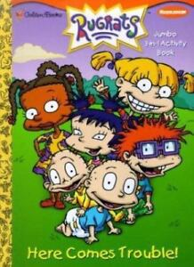 Rugrats Here Comes Trouble Coloring Book 9780307254054   eBay