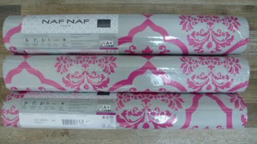 € 1,20 qm  3 Ro AS Creation 95224-3 grau pink Barockmuster  Naf Naf