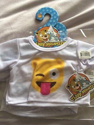 """Emoji T Shirt For 16"""" Teddie (inc Build A Bear)"""