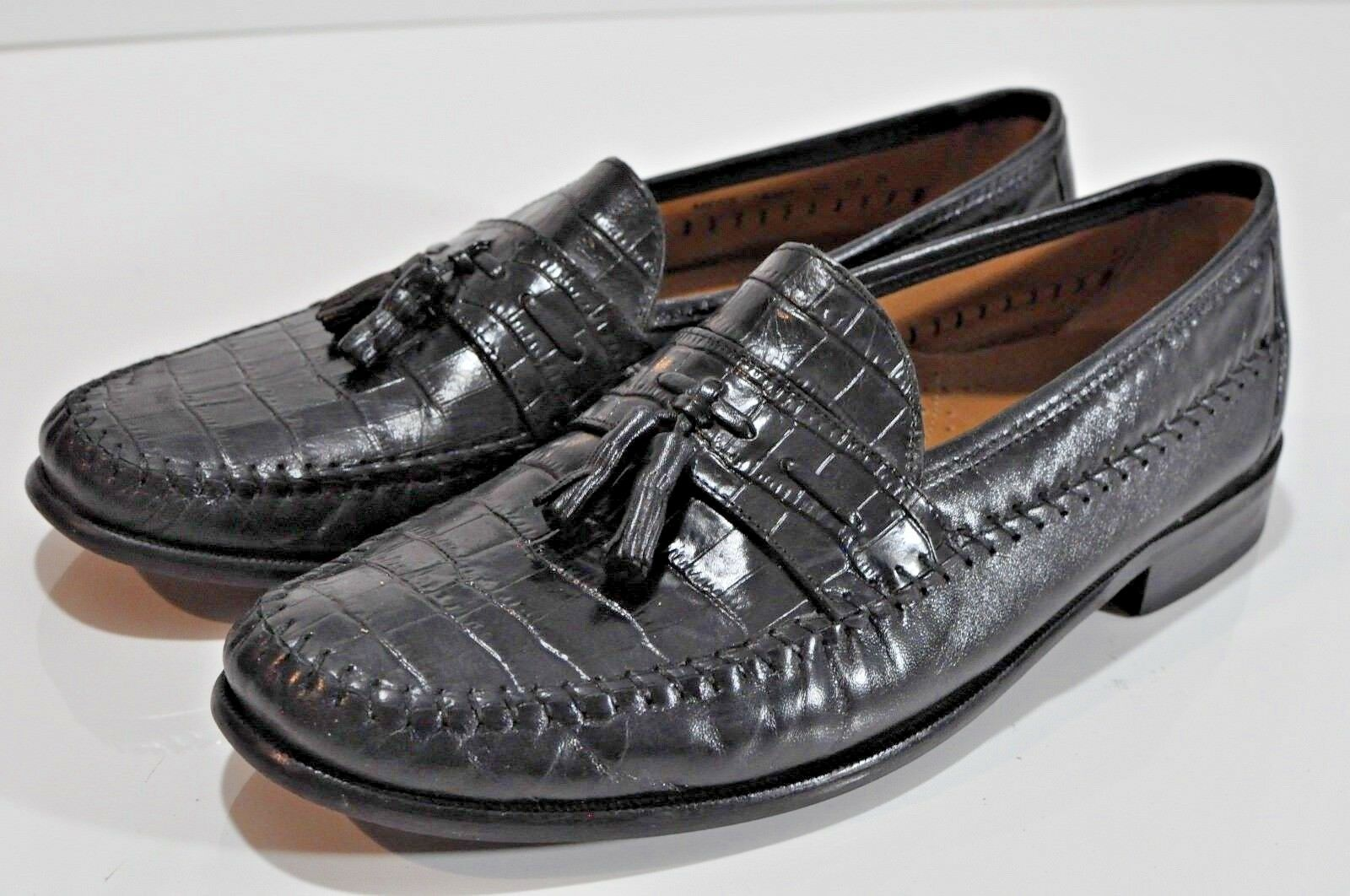 Florsheim Mens slip on tassel loafers size 12
