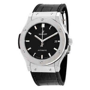 Hublot Classic Fusion Automatic Black Dial Men's Watch 511.NX.1171.LR