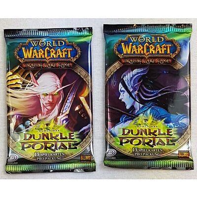 World of Warcraft, WoW, durch das dunkle Portal, 15 Spielkarten, Trading Card