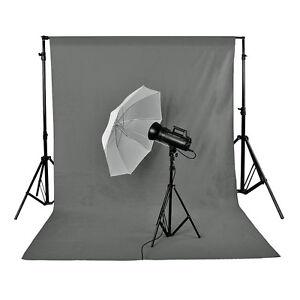 Neewer Photo Studio 100% Pure Muslin Backdrop Background 10 x 12ft Grey 808018098053