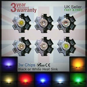 3W-Epistar-Bridgelux-Epileds-LED-Grow-Aquarium-Lights-PCB-Heat-sink-Chips-DIY