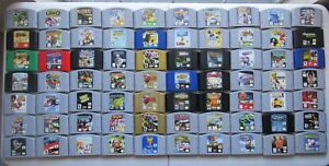 GREAT-Q-Z-Nintendo-64-N64-Games-100-Authentic-Cleaned-Tested-SUPER-FUN