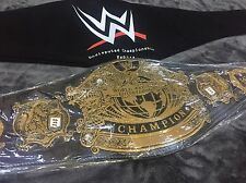 WWE UNDISPUTED CHAMPIONSHIP WRESTLING BELT WWE TITLE WWF WORLD WCW FREE GIFTS!!!