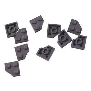25 NEW LEGO Brick 2 x 2 Corner BRICKS Dark Bluish Gray
