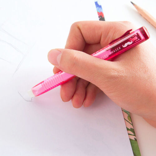 Stiftradierer nachfüllbar Radierer Radiergummi Schüler Kinder Radierer R6D2