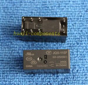 1pcs ORIGINAL JQX-115F-024-2ZS4 HF115F-024-2ZS4 24V 8A 250VAC Power Relays