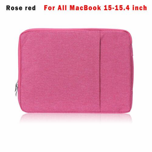 Sleeve Case Cover Handbag Laptop Bag For MacBook Air Pro Retina 11.6 13.3 15.4