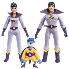 Super Friends Wonder Twins with Gleek Action Figure Set Figures Toy Co NEW!