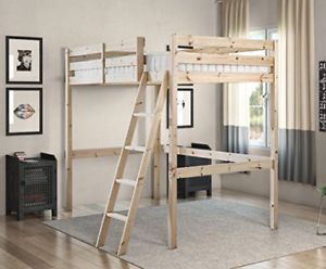 Strictly Beds and Bunks - Celeste High Sleeper Loft Bunk Bed, 4ft 6 Double