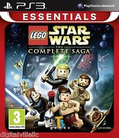 Lego Star Wars The Complete Saga Ps3 Sony Playstation 3 Brand Sealed