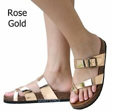 1abc5b9e8b item 7 New Women RLo Toe Ring Cork Platform Slippers Sandals Slip On Slides  6 to 9 -New Women RLo Toe Ring Cork Platform Slippers Sandals Slip On Slides  6 ...