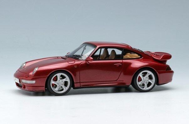 MakeUp VISION VM112A 1 43 Porsche 911 (993) turbo 1995 wine metallic