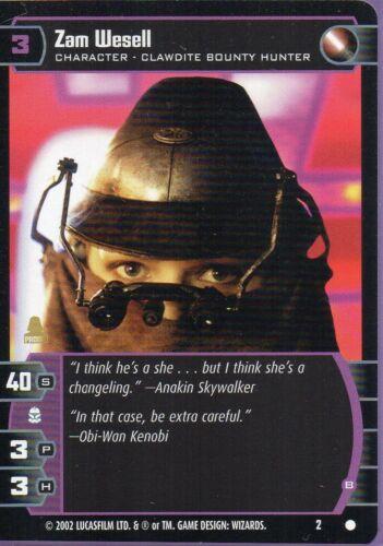 Zam Wesell #2 Promo Star Wars TCG