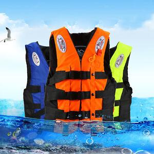 Schwimmweste Rettungsweste für Kinder & Erwachsene S/M/L/XL/XXL max. 10kg-110kg