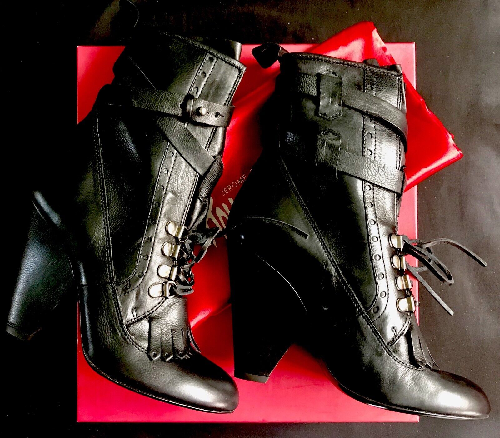 vendita outlet Jerome C. Rousseau ITALY ITALY ITALY Artemis Lace-Up Ankle stivali  895 Retail - Dimensione 37  vendita scontata online di factory outlet