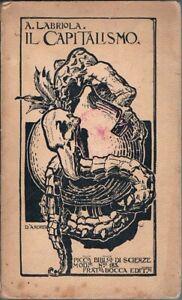1910-Economia-Politica-LABRIOLA-ARTURO-IL-CAPITALISMO