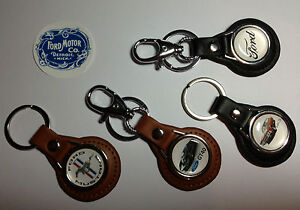 High Quality Ford Motor Company Real Leather Key Rings