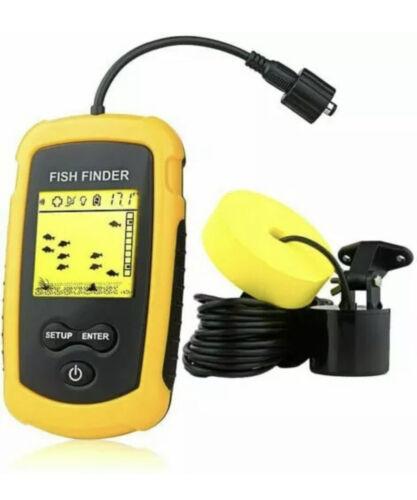 Venterior VT-FF001 Portable Fish Finder, Handheld Poissons Poisson Profondeur trouver...