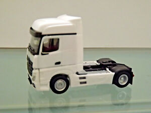 Herpa-309189-1-87-MB-Actros-Bigspace-Bianco-Nuovo-in-Scatola-Originale