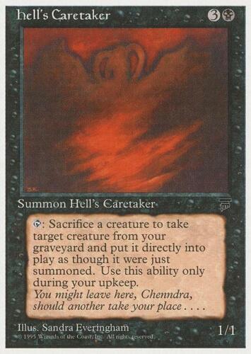 Chronicles MtG Hell/'s Caretaker 1x LP