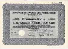 Lenzinger Zellwolle- und Papierfabrik AG, Agerzell/Oberdonau 1940