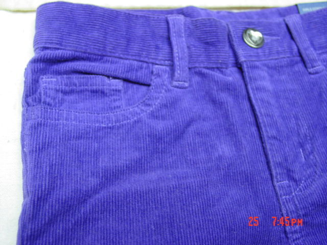 NWT Infant Toddler Girls Falls Creek Kids Black Corduroy Pants Hearts Durable