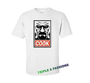 CUISINIER-T-shirt-blanc-DOPE-MAIN-DE-MICKEY-Heisenberg-bad-walter-HOMERS-HOMIES