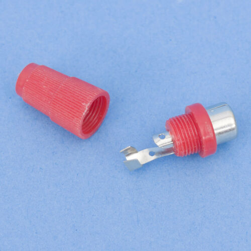 Cinch RCA Stecker Kupplung Buchse rot