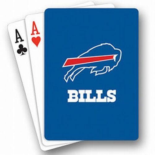 Buffalo Bills NFL carte da gioco, Skat, 54 fogli, nuovo