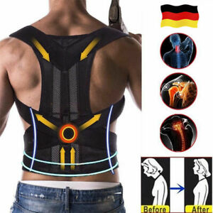 Schultergurt Rückengürtel Rückenbandage Haltungskorrektur Geradehalter Zurück DE