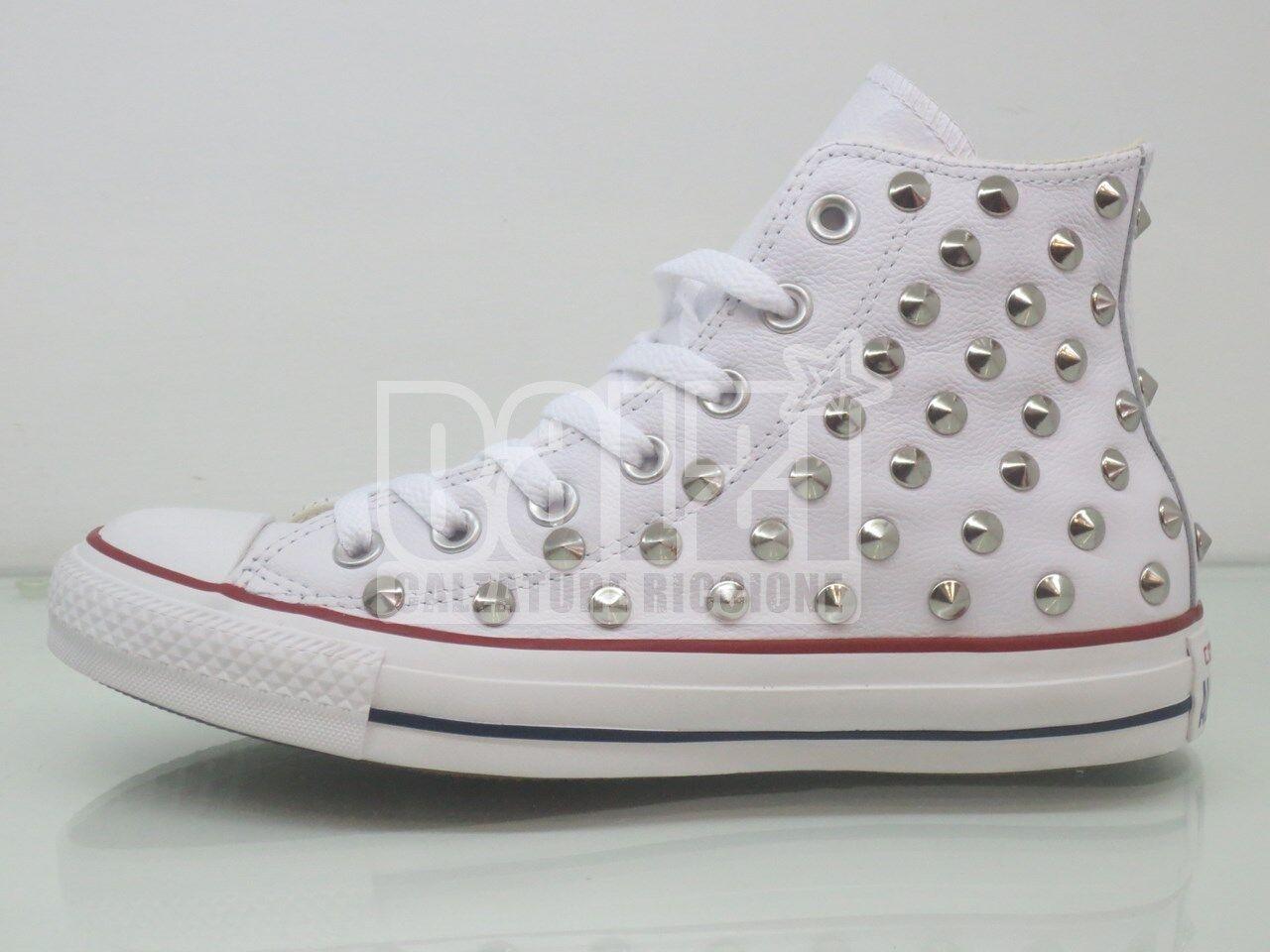 Converse Converse PELLE all star Hi bianco Pelle PELLE Converse Converse scarpe   4c1ad7
