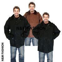 Mens Premium Unpadded Wax Jacket Rain Coat Made In The Uk