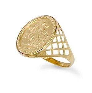 Ebay Uk Gold Sovereign Ring