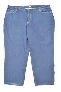e92d3057d7c72 Westport W62 24 Short Plus Straight Dark Wash Stretch Denim Jeans