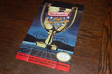 NES Nintendo World Championships NWC 1990 Promotional Poster RetroZone RetroUSB