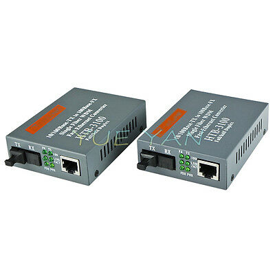HTB-3100 A//B 25 KM Single Fiber Single Mode Fiber Transceiver Fast Ethernet
